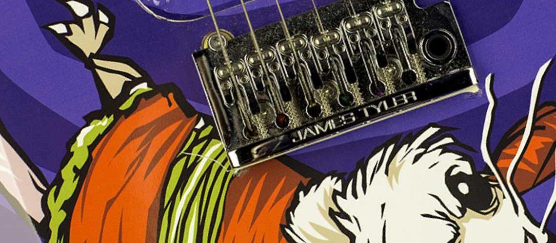 Line 6 customized JTV-69 and JTV69S Variax guitars