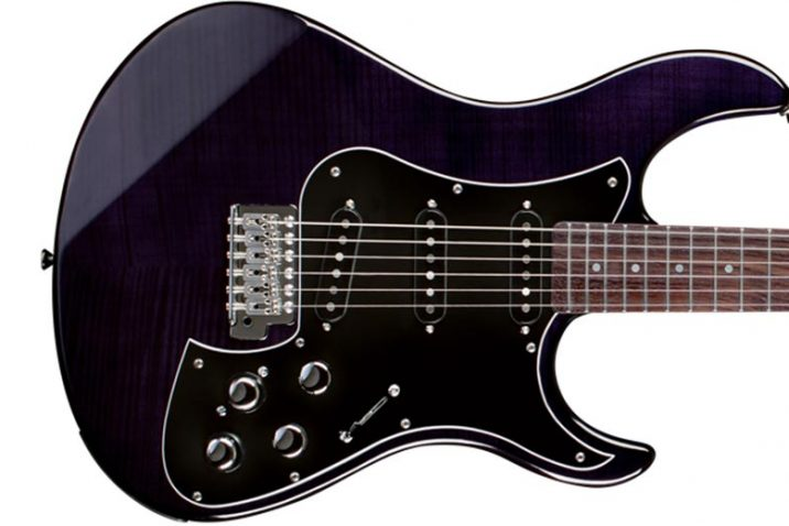 Line 6 Variax Limited Edition Amethyst Guitar