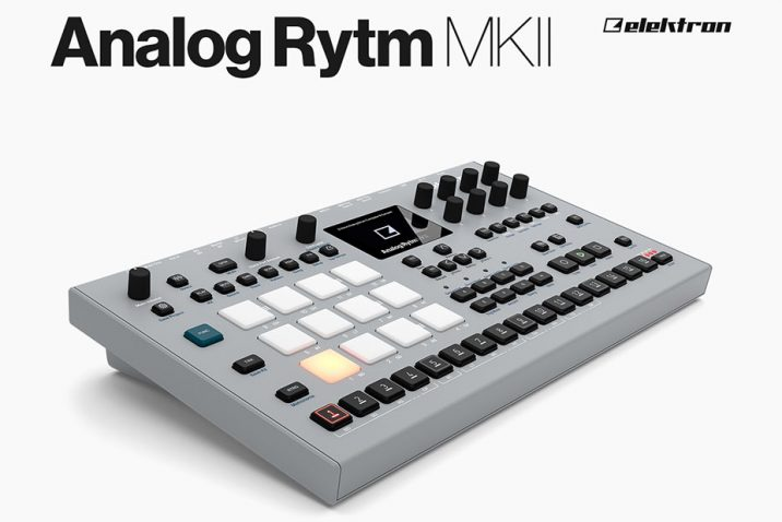 Elektron Analog Rytm MKII is now shipping