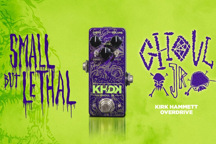 KHDK Electronics introduces the GHOUL JR Overdrive