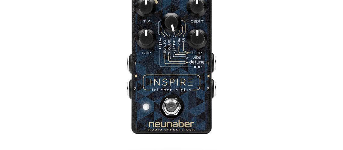 Neunaber introduces the INSPIRE Tri-Chorus Plus