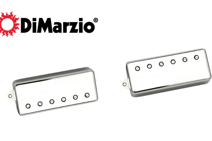 DiMarzio releases pg-13™ neck & bridge mini humbucker pickups