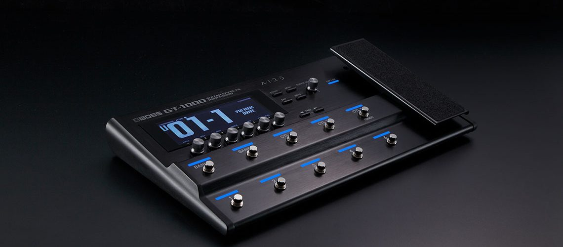 boss announces gt 1000 guitar effects processor. Black Bedroom Furniture Sets. Home Design Ideas