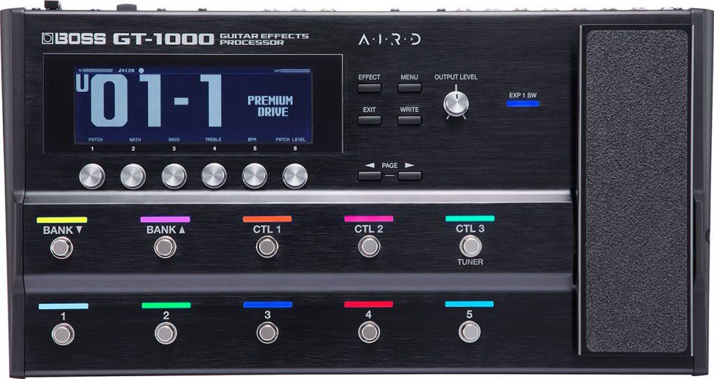 Boss Gt-1000 Guitar Effects Processor