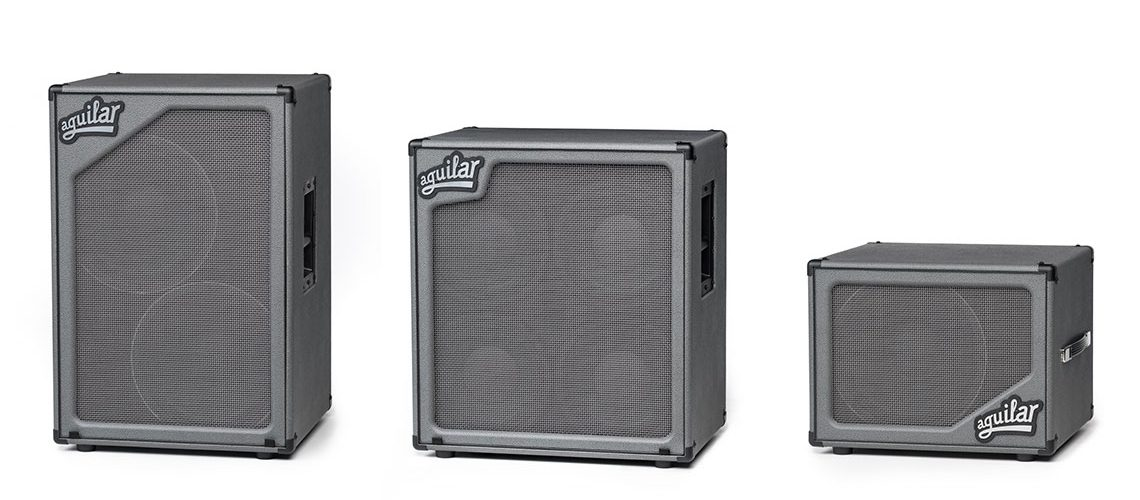 "Aguilar Amplification Limited Edition ""Dorian Gray"" Bass Cabinets"