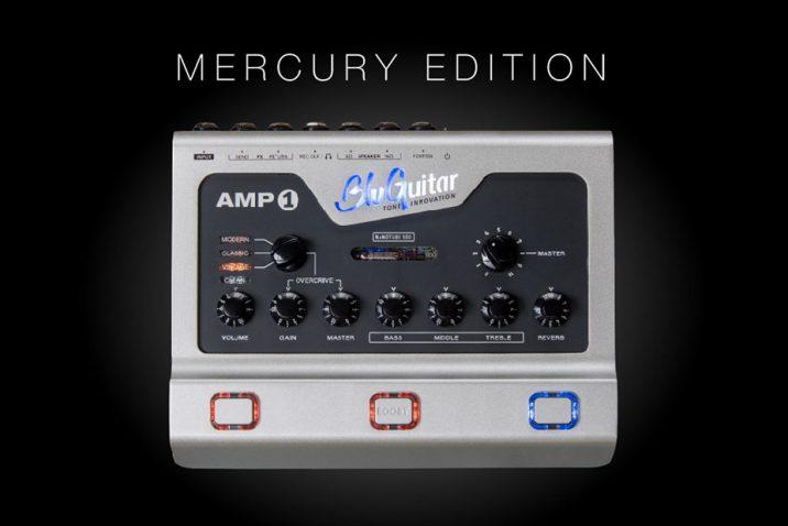 BluGuitar unveils AMP1 Mercury Edition