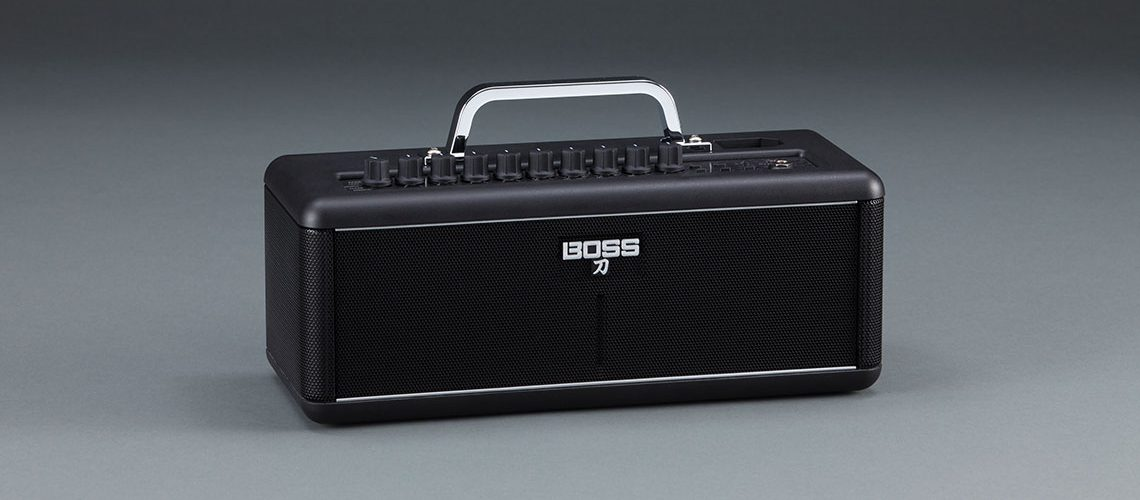 Boss Introduces Katana-Air Guitar Amplifier