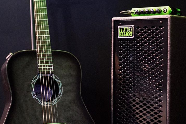 Carbon Fiber Guitar Builder Composite Acoustics® Teams with Trace Elliot®