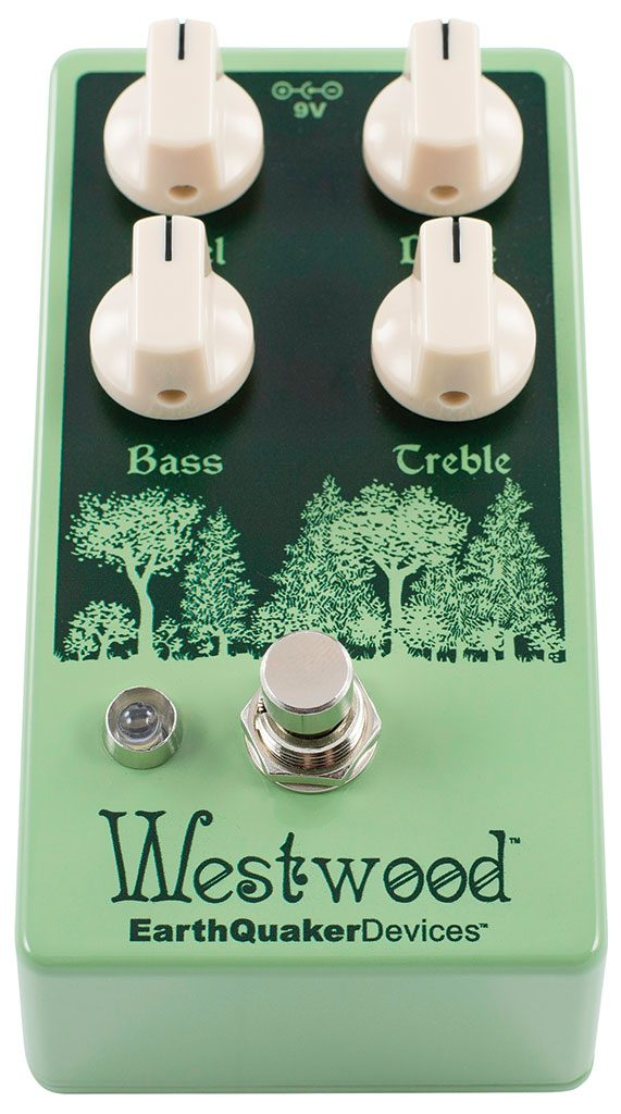 EarthQuaker Devices Releases Westwood Translucent Drive