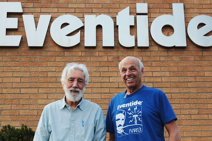 Eventide's Tony Agnello and Richard Factor are the Technical GRAMMY® Award recipients
