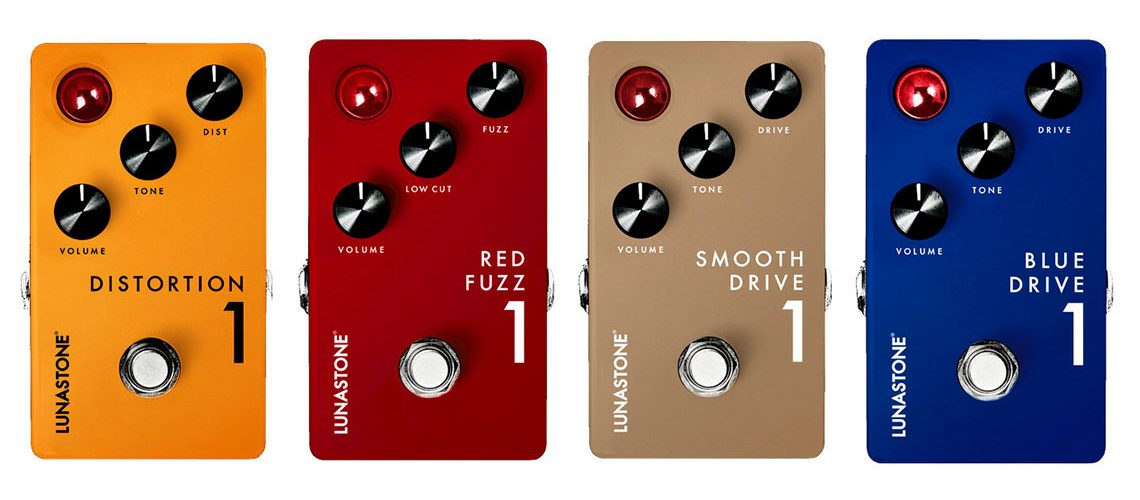 Lunastone Pedals to Preview 4 New Pedals at NAMM 2018