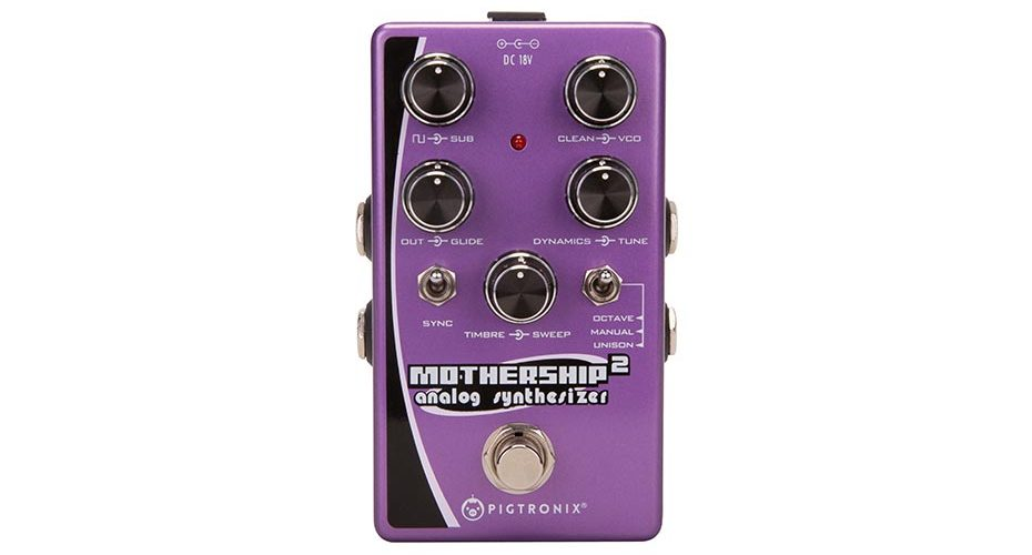 Pigtronix Mothership 2 now shipping across Europe and UK