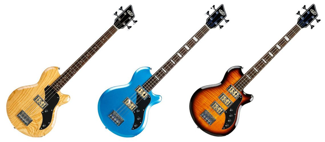 Supro Huntington Bass guitar series
