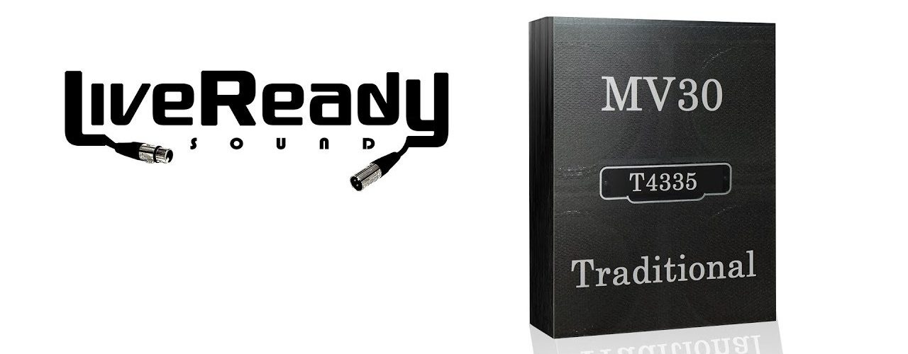 "Live Ready Sound ""MV30 Traditional"" Impulse Response Pack"