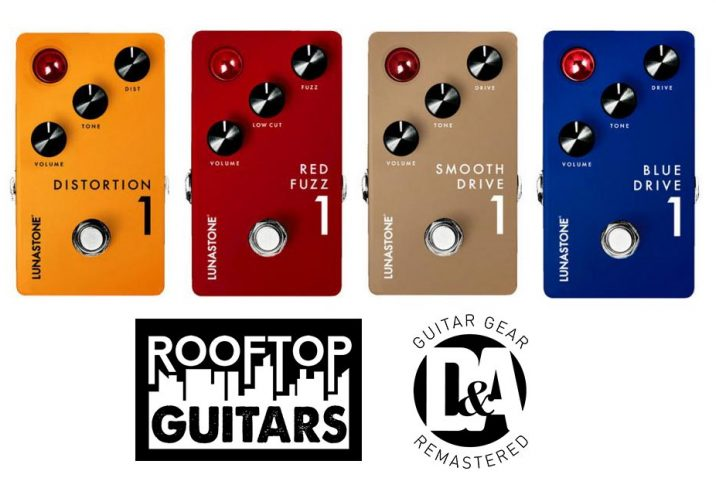 Lunastone Pedals Opens New Distribution Channels in the US and Germany