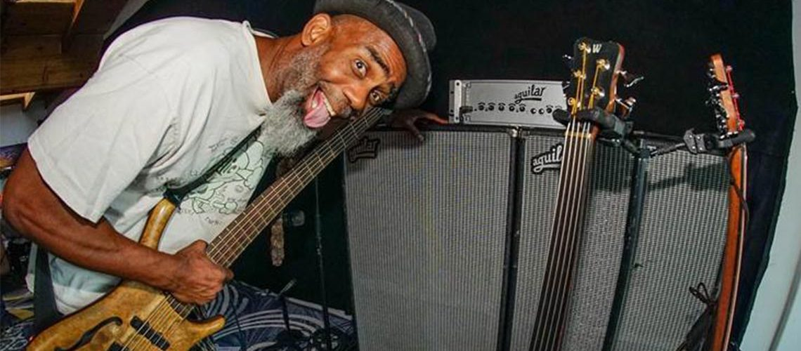 Aguilar Amplification welcomes Fishbone's Norwood Fisher to its Artist Roster