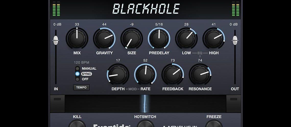 Eventide Announces Availability of Blackhole for Native Instruments NKS®