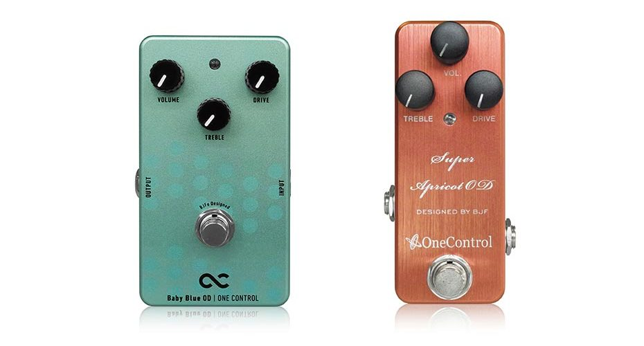 One Control Launches Two New BJF Overdrives: Baby Blue and Super Apricot