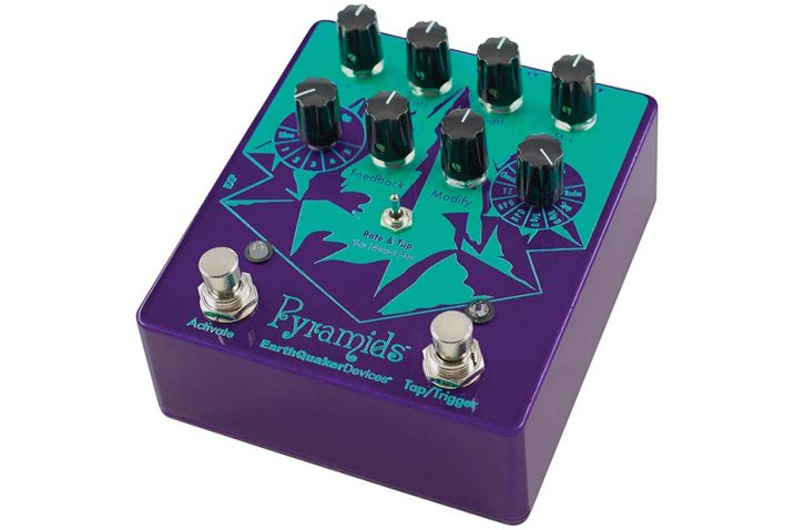 EarthQuaker Devices to Release Pyramids Stereo Flanging Device