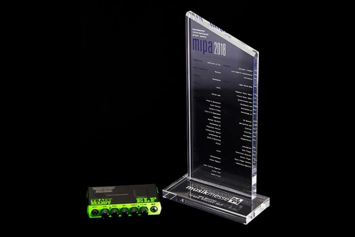 Trace Elliot® ELF Wins Best Bass Amplifier Award