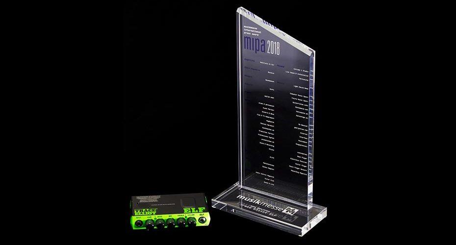 Trace Elliot® ELF Wins Best Bass Amplifier Award