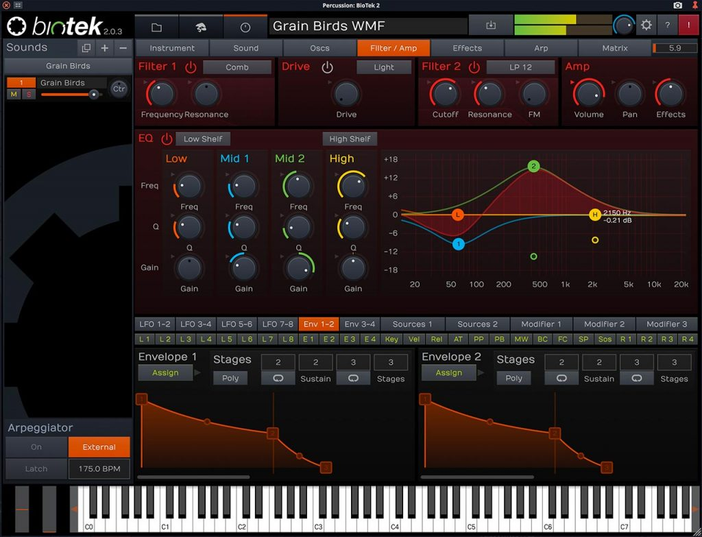 Tracktion Launch Biotek 2 Premium Virtual Instrument