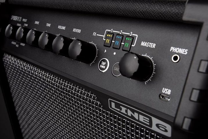 Line 6 Introduces Compact Spider V 20 Practice Amplifier