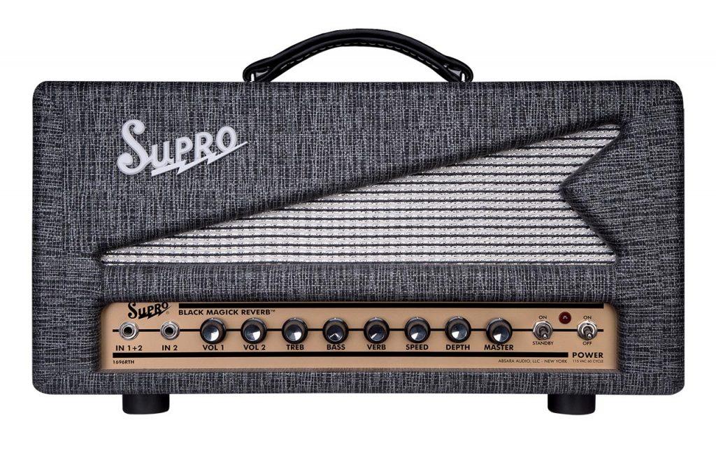 Supro Launches Black Magick Reverb Amplifier