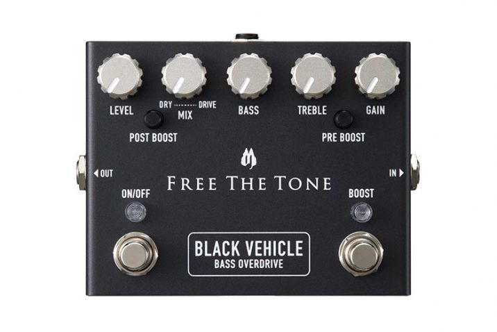 "FREE THE TONE BV-1V ""BLACK VEHICLE"" Bass Overdrive"