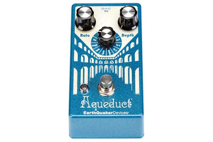 EarthQuaker Devices to Release Aqueduct Vibrato