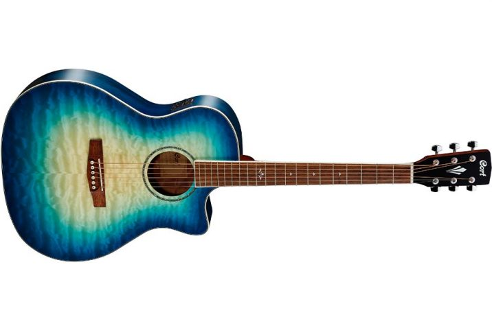 Cort Guitars Grand Regal Series GA-QF acoustic-electric guitar