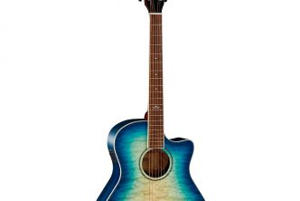 Cort Guitars Grand Regal Series GA-QF acoustic-electric guitar