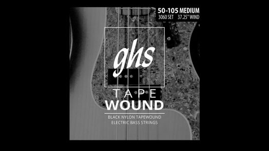 GHS Tapewound Bass Guitar Strings