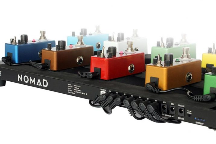 Outlaw Effects Launches NOMAD Rechargeable Battery-Powered Pedal Boards