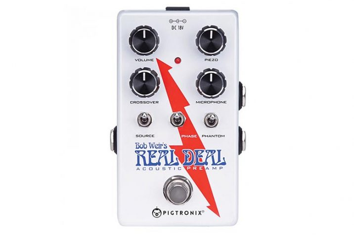 Pigtronix Bob Weir Real Deal Signature Preamp pedal