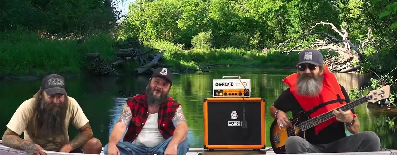 Blackberry Smoke Bassist Goes Fishing For Orange Amplification Terror Bass