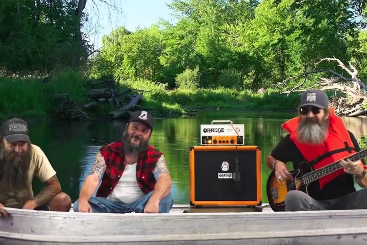 Blackberry Smoke Bassist Goes Fishing For Orange Amplification Terror Bass