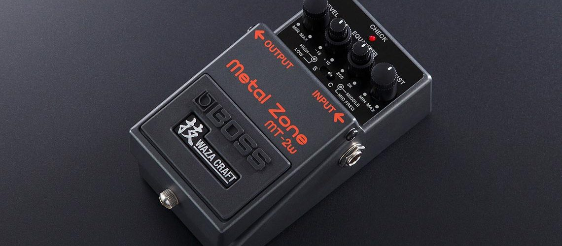 Boss Mt-2w Metal Zone