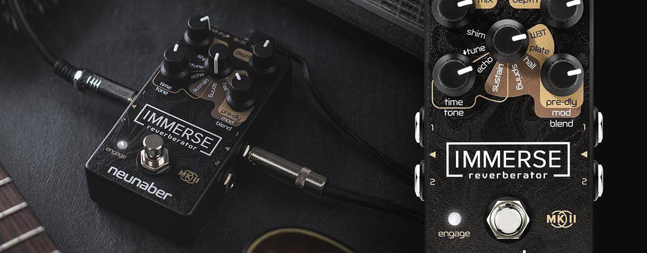 Neunaber Immerse Mk II Reverberator Pedal