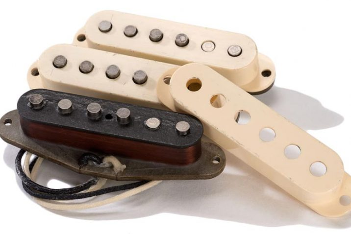 ThroBak '64 MXV Stratocaster Pickup Set