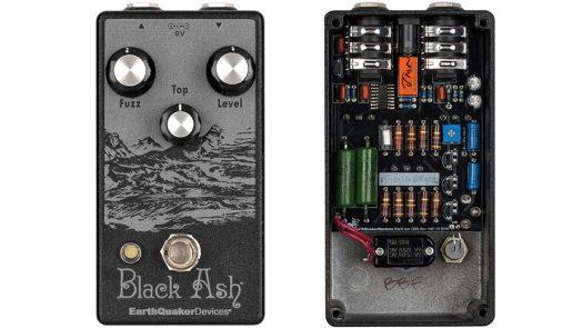 EarthQuaker Limited-Edition Black Ash Endangered Fuzz