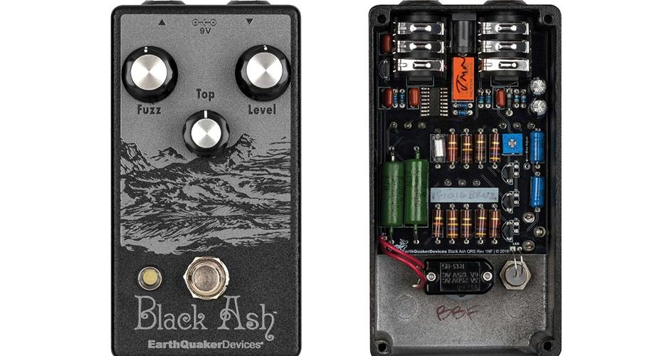 EarthQuaker Limited-Edition Black Ash Endangered Fuzz