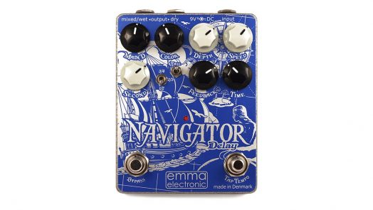 EMMA Electronic releases ND-1 Navigator Hybrid Delay pedal