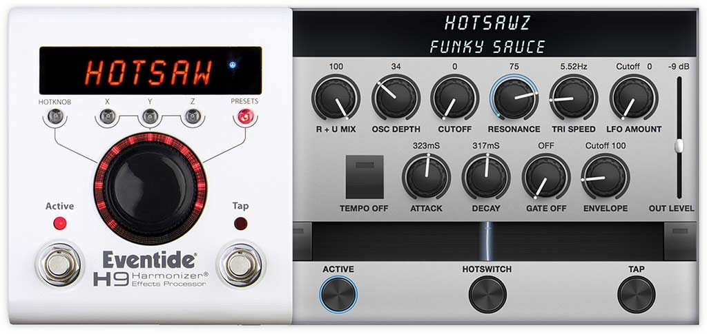 Eventide Spicy HotSawz Synth for H9