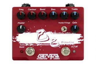 Gervana introduces the new Ji Si Distortion Pedal with Boost