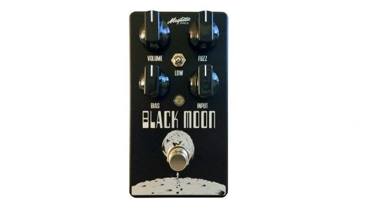 Magnetic Black Moon Effects Pedal For Guitar