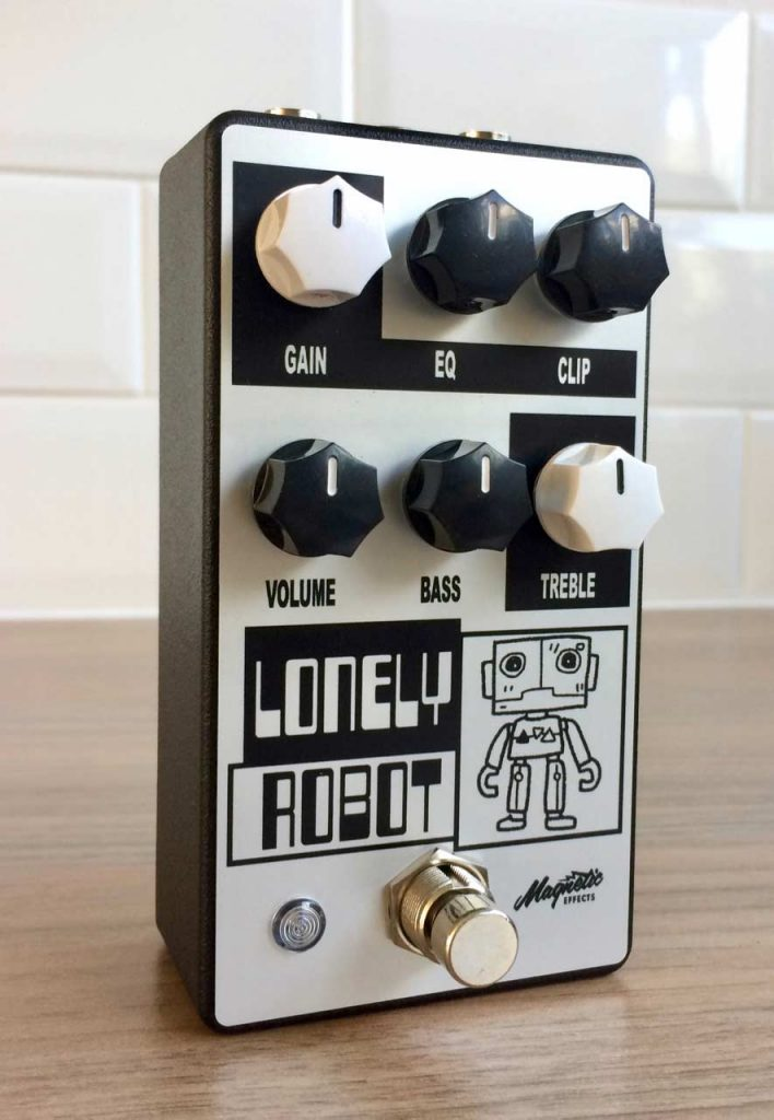 Magnetic Effects Lonely Robot For Guitar