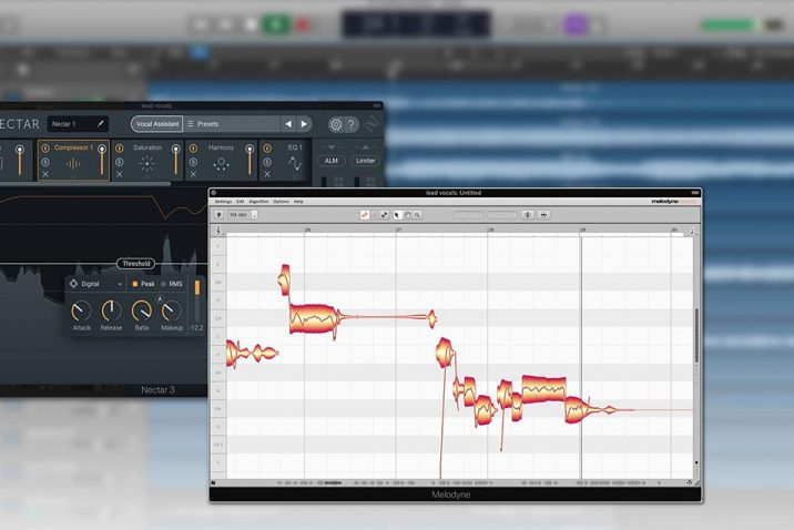 Melodyne essential bundled with iZotope Nectar