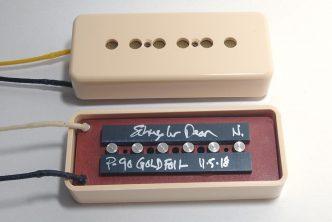 Schuyler Dean P-90 Gold Foil Pickups