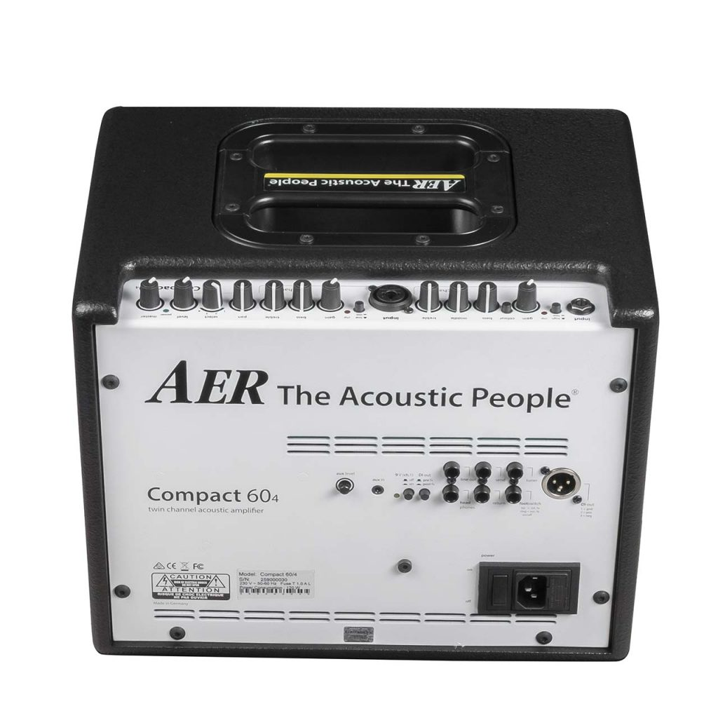 AER Introduces 4th Generation of Compact 60 Acoustic Amp Family